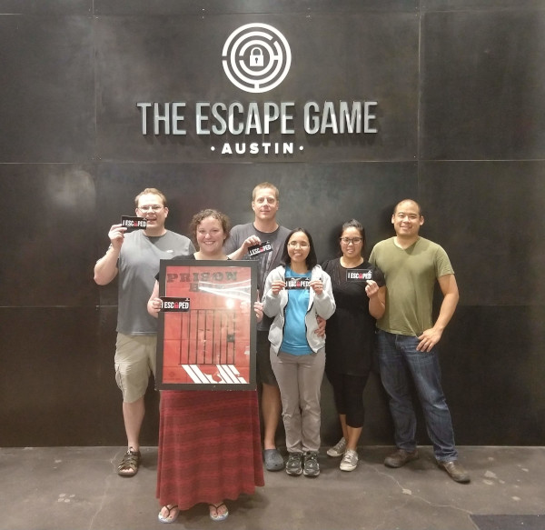 We ESCAPED from the Prison Break room!